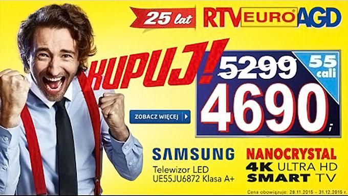 komunikacja w reklamie rtv euro agd