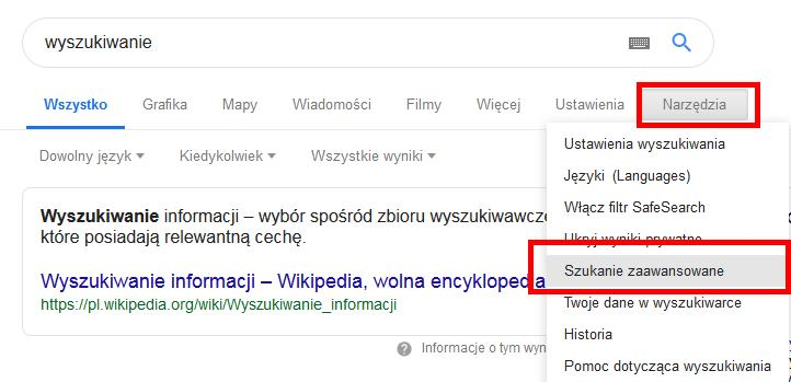 d85e953639d299 Jak wyszukiwać w Google? | Samodzielny Marketing