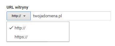 Wprowadzenie do Google Analytics - szyfrowanie połączenia dla domeny