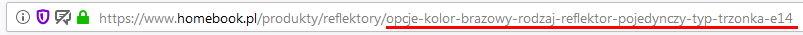 Noindex w SEO - URL z wieloma filtrami