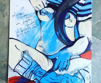 kobieta – obraz na zamówienie – Agata Bronikowska