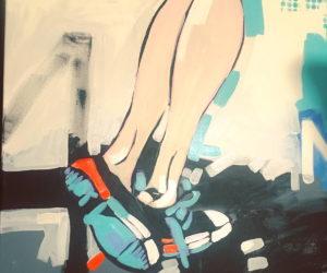nogi – Agata Bronikowska – obrazy do mieszkania