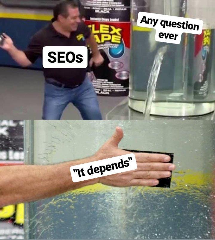 to zależy meme seo